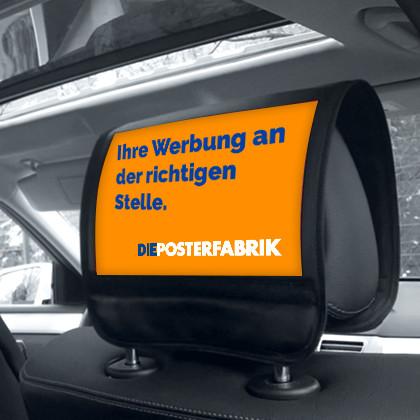 Taxiwerbung (Doorbranding, Kopfstützen, etc.)