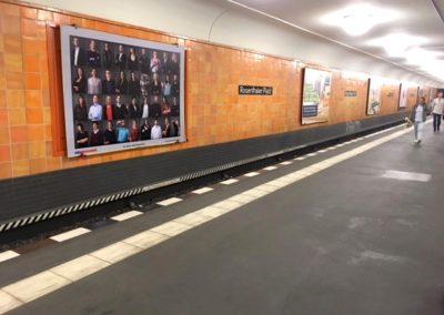 DIEMEDIAFABRIK, Großfläche am Rosenthaler Platz