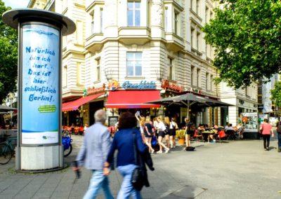 City-Light-Säule in Berlin, Berliner Wasserbetriebe