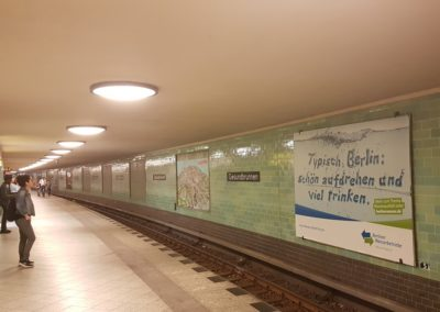 Großflächen in Berlin, Berliner Wasserbetriebe