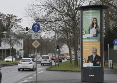 Plakatmedien CityLight-Säule