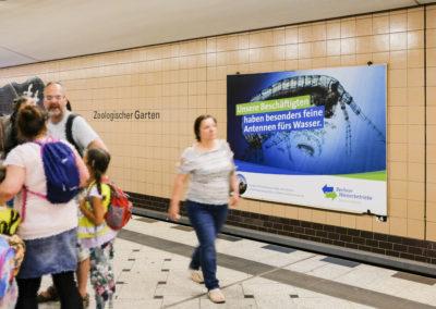 Großfläche U-Bahn