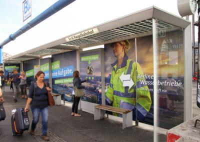 Wartehallenganzgestaltung Hauptbahnhof