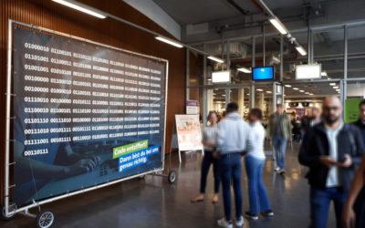 Berliner Wasserbetriebe – Binärmotiv