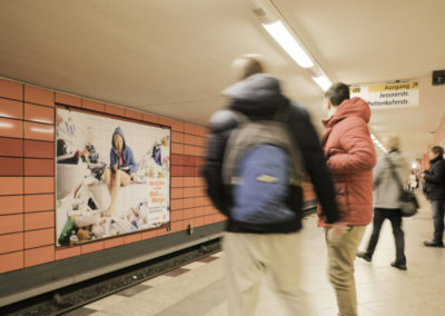 Großfläche U-Bahnhof